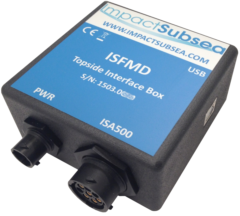 ISFMD Flooded Member Detection Topside Interface Box