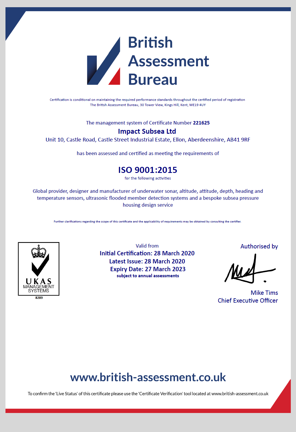 ISO 9001 2015 1