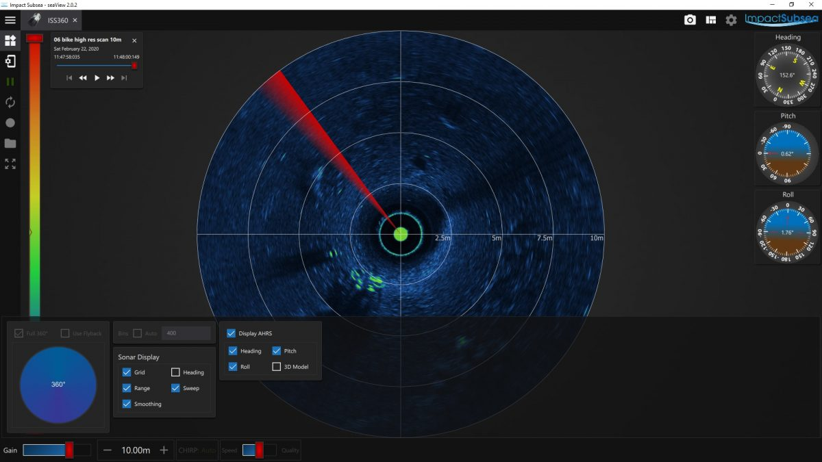 Impact Subsea seaView Software