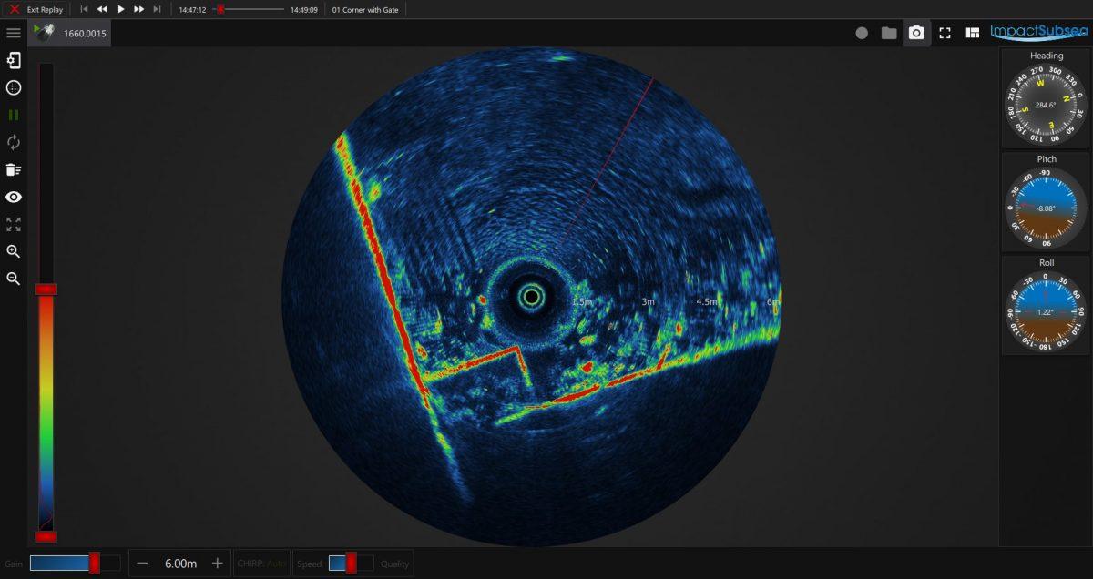seaView V2 ISS360 Sonar