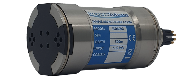 Underwater Depth & Temperature Sensor with integrated Pitch, Roll & Heading (AHRS)