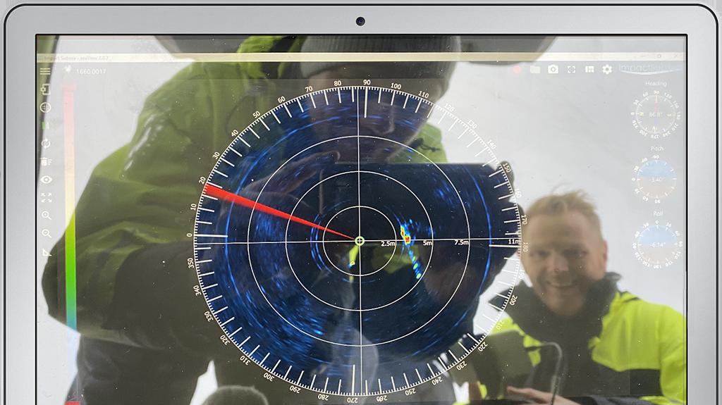 seaView Software screen 1