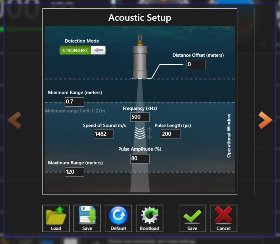 ISA500 Altimeter Setup